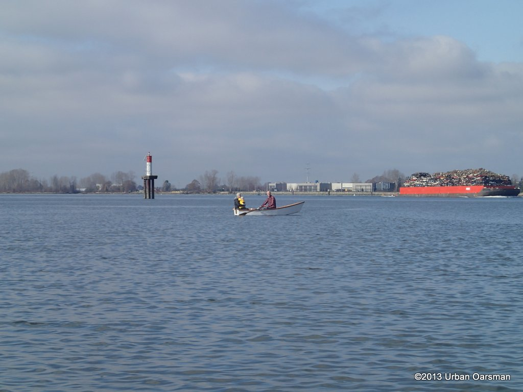 The Urban Oarsman Rows Deas Island Slough
