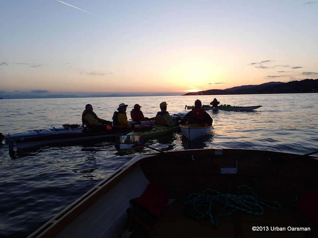 The Urban Oarsman, the Spring Equinox Row