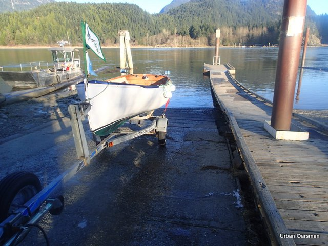 The Urban Oarsman rows Widgeon Creek both forks