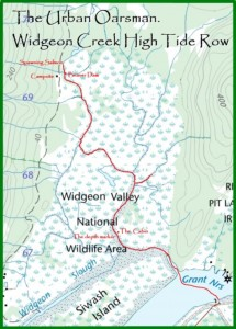 Widgeon Creek High Tide Row
