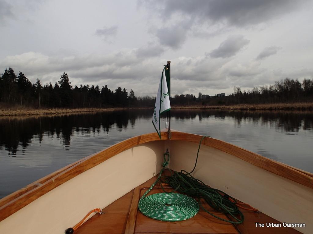 The Urban Oarsman Rows Burnaby lake