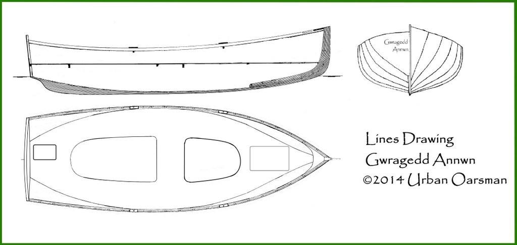 Gwragedd Annwn Lines drawing