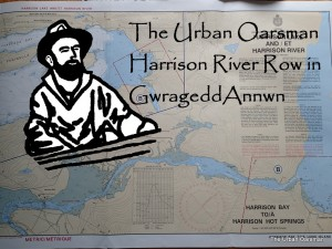 The Urban Oarsman rows Gwragedd Annwn from Harrison Lake, down Harrison River to Kilby Park