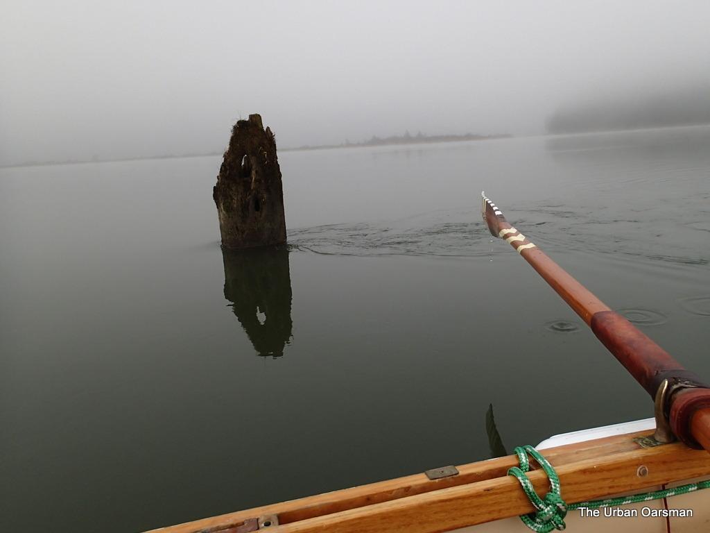 The Urban Oarsman Circumnavigates Siwash Island