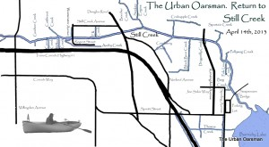 The Urban Oarsman returns to Still Creek