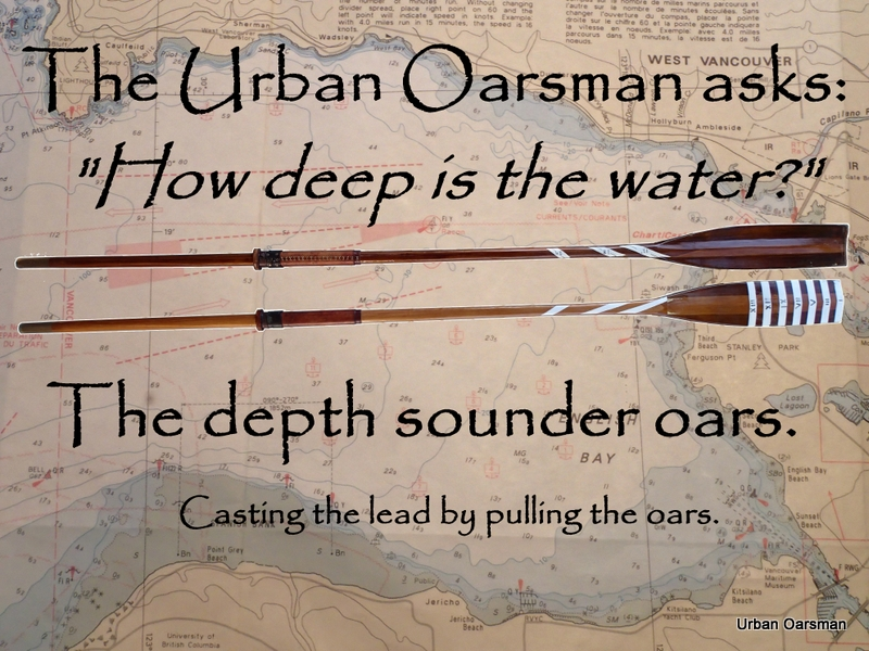 Depth Sounder Oars Title Page