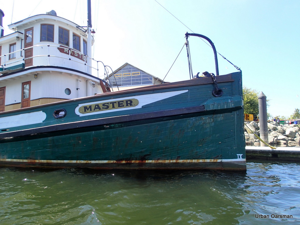 "Bow of the Steam Tug ""Master"""