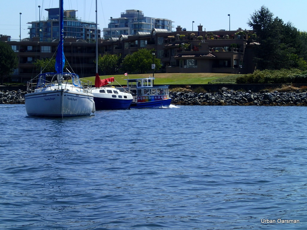 Aquabus ferry in False Creek