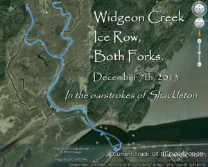 The Urban Oarsman Rows Widgeon Creek, Both Forks