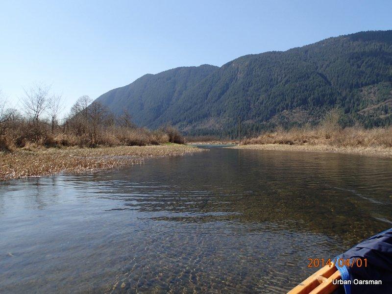 Widgeon Creek High Water Row