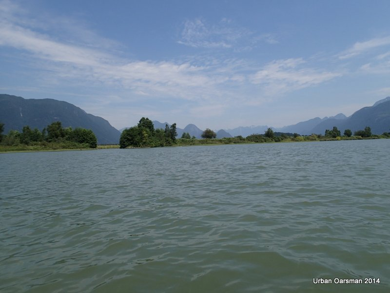 Baking in the Summer Sun, The Pitt River Row.