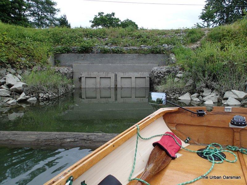 Water control gates.