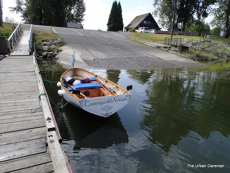 Gwragedd Annwn at the Pitt Meadows Marina float.