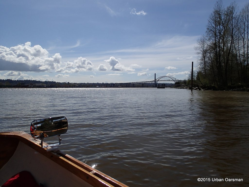 Brunette River/Sapperton Channel Row