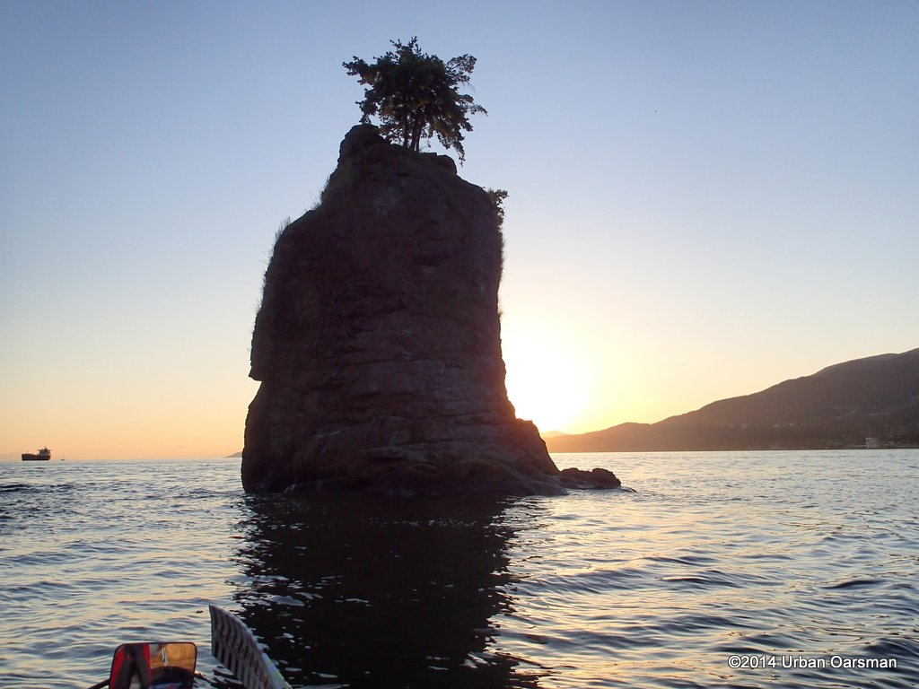 Siwash Rock Sunset