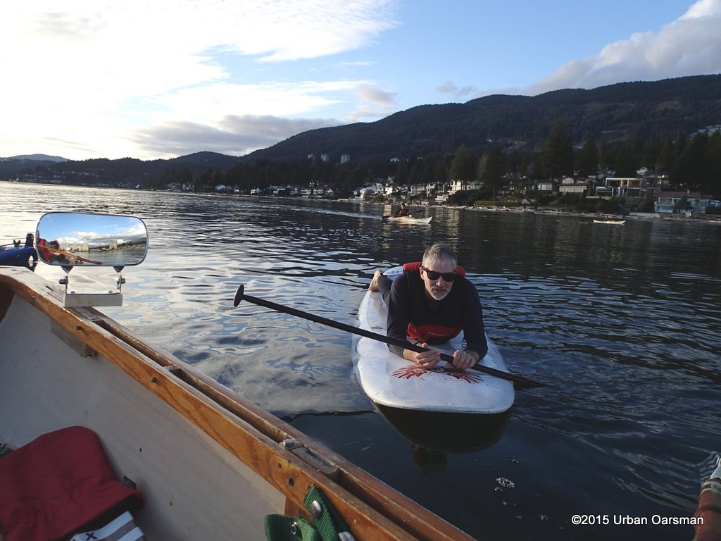 The Spring Equinox Row, March 21st, 2015.
